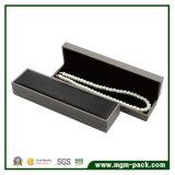 Коробка ювелирных изделий PU изготовленный на заказ черноты Classcial кожаный