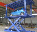 موقف سيّارة يقصّ تجهيز كهربائيّة سيّارة مصعد