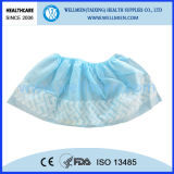 Wegwerfbares Anti Skid Non-Woven Shoe Cover für Hospital