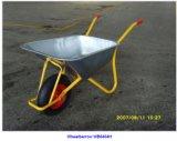 Carrinho de mão de roda Wb6404h do metal 200kg para exportar