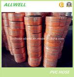 Труба шланга высокого давления брызга воздуха PVC пластичным гибким усиленная волокном