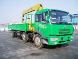 FAW 8-12 van de ladingsTon vrachtwagen met kraan