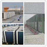 Strumentazione raffreddata aria dell'acqua calda della pompa termica al condizionatore d'aria