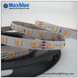 Striscia doppia registrabile di bianco SMD5630 LED del TDC DC24V 112LEDs/M