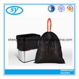 Plastic PE Vuilniszakken met Drawstring