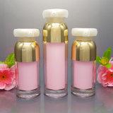 卸し売り空の装飾的なアクリルの瓶およびびん(NST51)