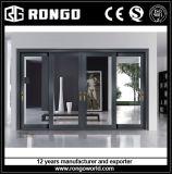 Portello e finestra di vetro di alluminio per l'interiore