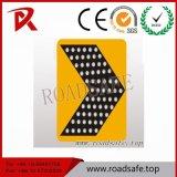 Движения символов света Blink знака солнечного знака уличного движения Roadsafe направляя знаки алюминиевого отражательные