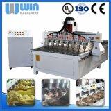 Centre d'usinage de commande numérique par ordinateur de travail du bois chinois de la précision Ww1530