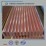 Qualitäts-buntes gewölbtes Dach-Blatt