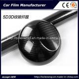 Pellicola del vinile della fibra della pellicola 5dcarbon dell'involucro dell'automobile per l'involucro del vinile della fibra del carbonio