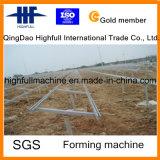 Macchinario di fabbricazione dell'acciaio galvanizzato cremagliera solare