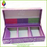 Vela de lujo de Navidad caja de papel de embalaje