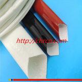 Sleeving Sleeving da isolação da fibra de vidro da borracha de silicone 2751