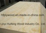 madeira compensada do uso da mobília da madeira compensada da face do pinho de 18mm Radiata