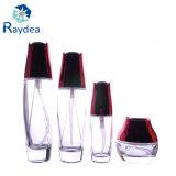 Прозрачная стеклянная бутылка для лосьона 130ml