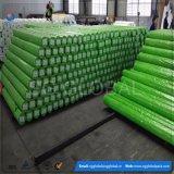 Encerado verde chinês do PE da largura 2.44meter