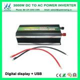 AC110/120Vの周波数変換装置(QW-M3000)への3000WインバーターDC48V