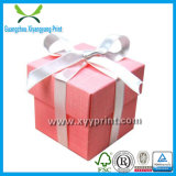 Caixa de presente feita sob encomenda do papel do cartão da alta qualidade para empacotar