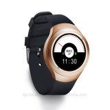 2016外形図の表示SIMのカードスロット(L6)が付いているスマートな腕時計の電話