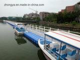 Flotadores el pontón del HDPE del puente de flotación