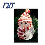 Muñeco de nieve de la Navidad del LED