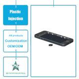 Modelagem por injeção plástica personalizada da tampa plástica plástica do telemóvel do telefone móvel dos produtos