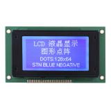 128X64 LCD van het Type van Portret van de Matrijs van de PUNT Vertoning