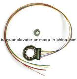Codificador rotatorio para el motor de la puerta