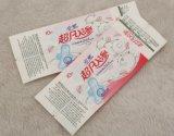 Embalagens plásticas para saco de produtos de almofadas sanitárias