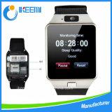 인조 인간 Ios Wristwear 지원 Sync 지능적인 시계 Smartwatche를 위한 보수계 Bluetooth Dz09 지능적인 시계는 생각나게 하기 위하여, 손실 잠을 방지한다