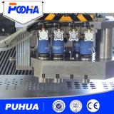 Perforación del orificio de la punzonadora de ms Ss CNC hecha en China