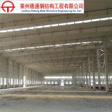 Almacén de la estructura de acero Q235/Q345 del bajo costo/plantas/edificio prefabricados del taller
