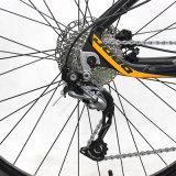 Bici eléctrica eléctrica de la bicicleta del motor medio de la aleación de aluminio/por completo de montaña de la suspensión