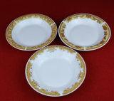 Foodsafeの標準印刷の装飾テーブルウェア安い陶磁器のスープ皿