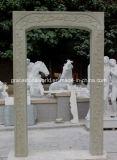 Umbral de mármol/entrada de piedra tallada de la puerta
