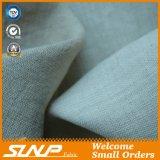 Materia textil respirable de lino de la ropa de la tela del 100%