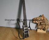 Новая безглавая электрическая гитара 2017 с телом сатинировки никеля (AD120)