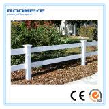Frontière de sécurité à faible teneur en carbone de PVC de longeron de Roomeye Eco une pour le cheval