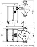 Máquina Serie Laboratorio Hopper Mixer Farmacéutica