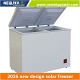 глубокое 170L 128L 233L 433L солнечное - замораживатель холодильника замораживателя солнечный