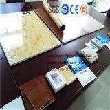 Placa da espuma do PVC WPC, placa da mobília, placa da espuma da crosta, placa do gabinete de cozinha, placa de mármore, painel de parede, folha do PVC