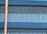 高品質純ヤーンのふさの金属の鎖のレース