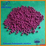 칼륨 과망간산염 흡착제 (임신된 활성화된 반토)