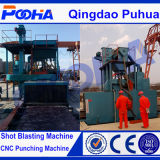 Industrie-Strahlen-Geräten-Rollen-Förderanlagen-Granaliengebläse-Maschine