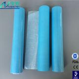 Wegwerfprüfungs-Bett-Papier-Rolle mit der Prägung