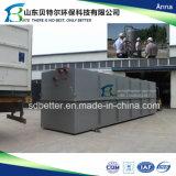 installation de traitement d'eaux d'égout de l'hôpital 150tons/Day, avec la désinfection