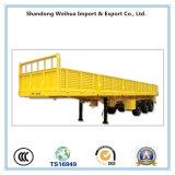 半30トンの側面の貨物トレーラーの平面のトラックのトレーラー