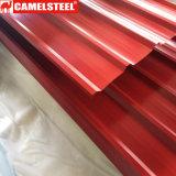 Листы толя низкой цены цветастые Corrugated для конструкции
