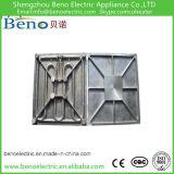 Piastra di riscaldamento personalizzata per la macchina della pressa del riscaldamento